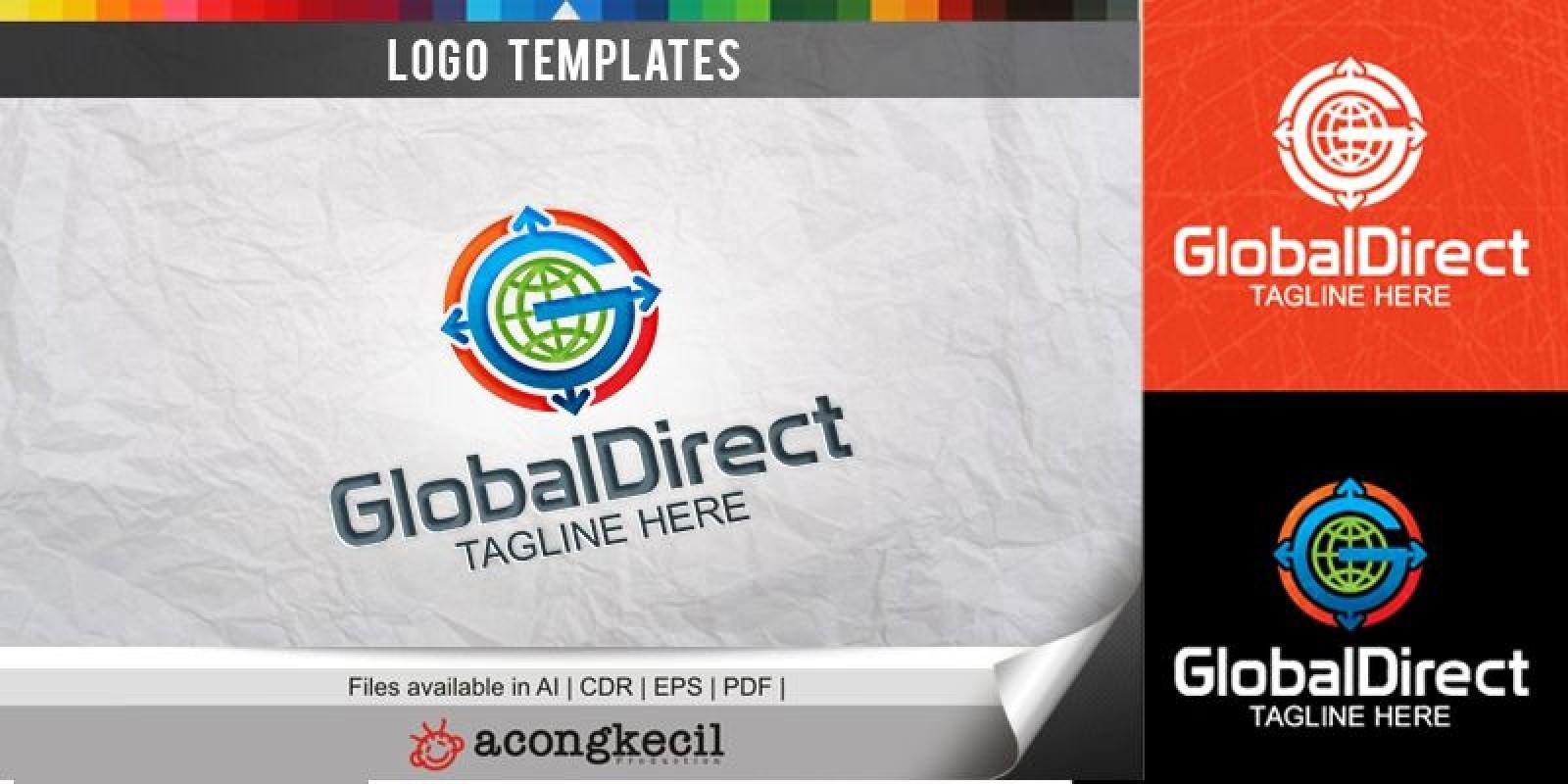 Global Direct - Logo Template