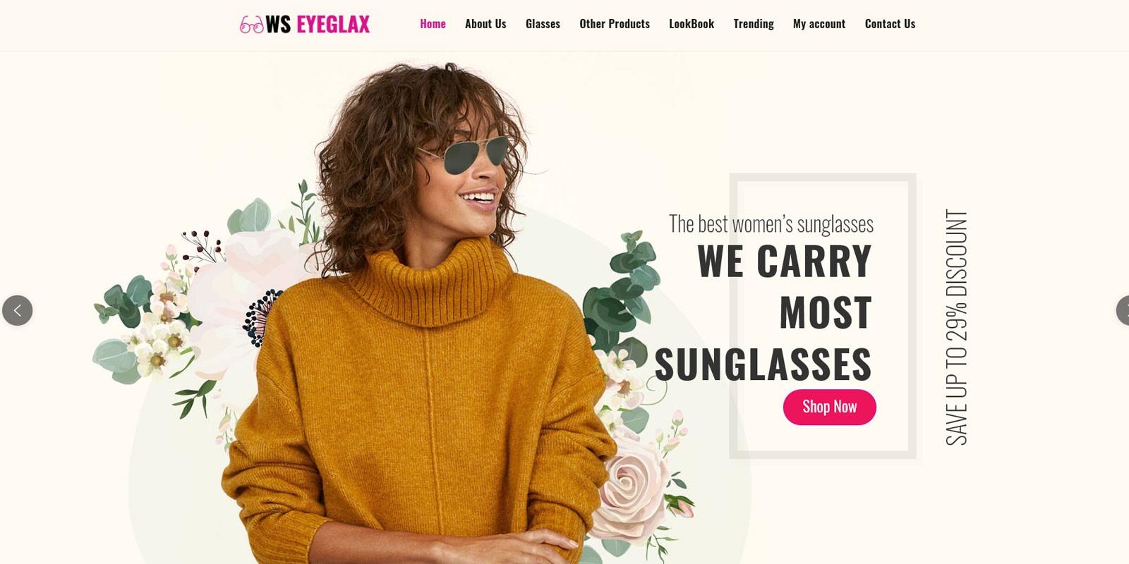 EyeGlax - WordPress Theme