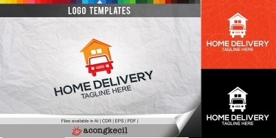 Home Delivery - Logo Template
