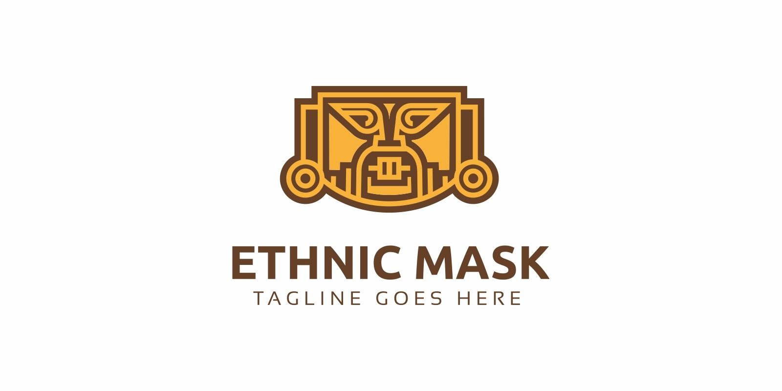 Ethnic Mask Logo