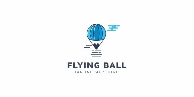 Flying Balloon Logo