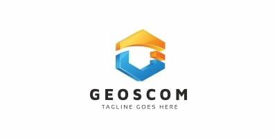 Geoscom G Letter Logo