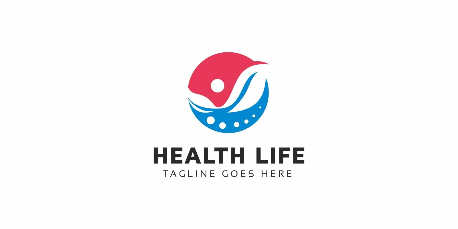 Health Life Logo