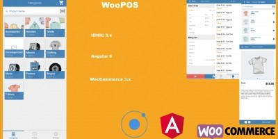 WooPOS - Point Of Sale with Ionic And WooCommerce