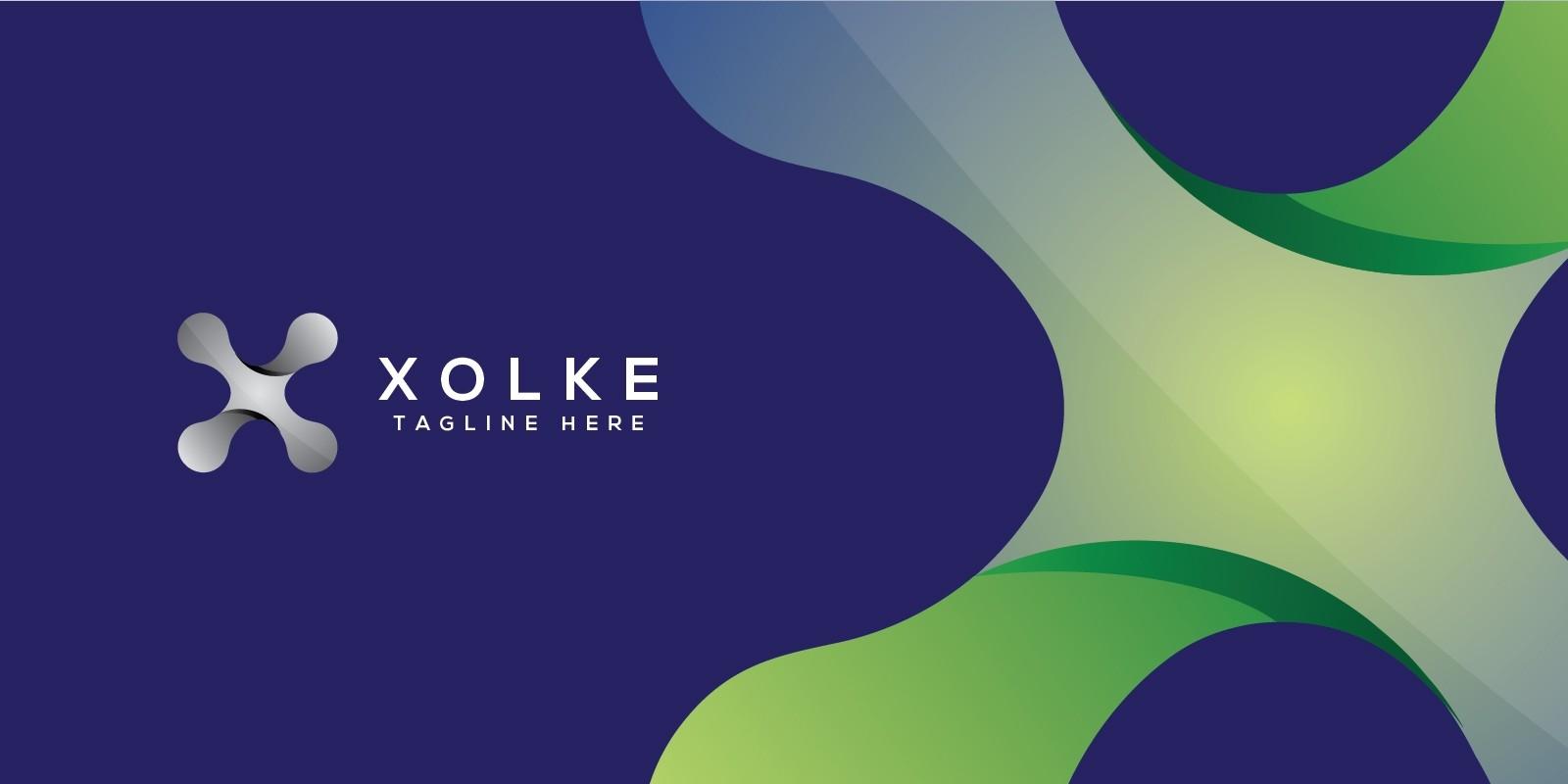 Xolke - Letter X Logo