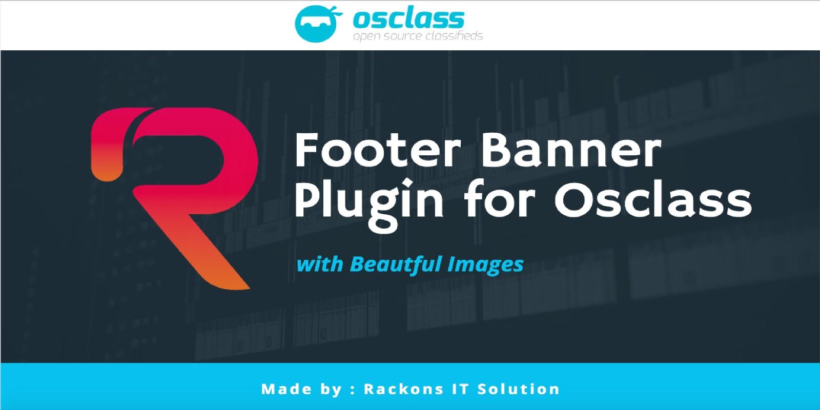 Footer Banner Plugin for Osclass