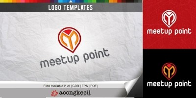 Meet up Point V1 - Logo Template