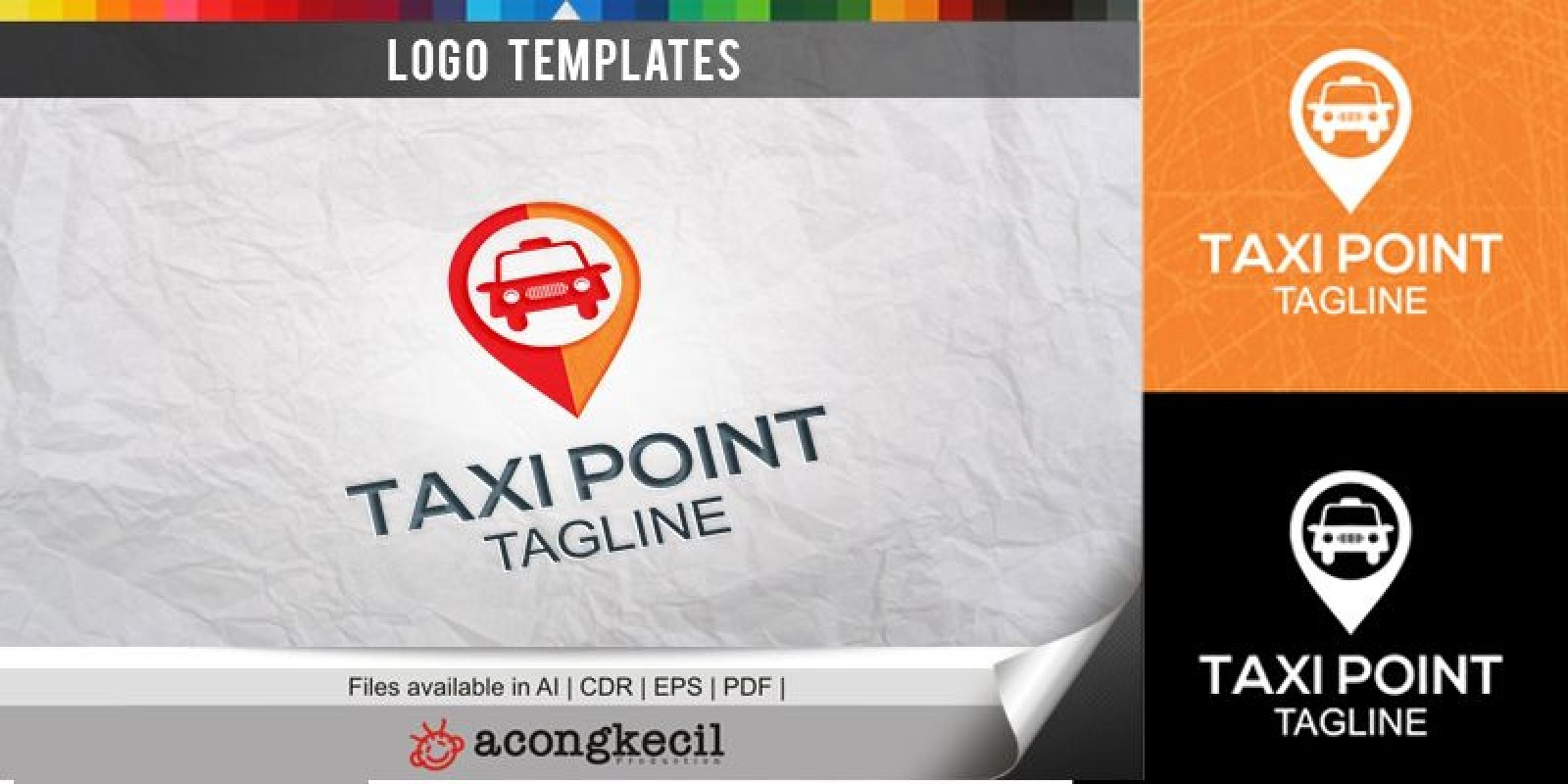 Taxi Point - Logo Template