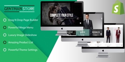 SP Gentman - E-commerce Shopify Responisive Theme