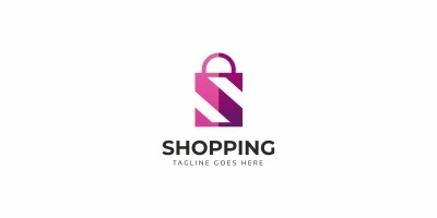Shopping S Letter Logo