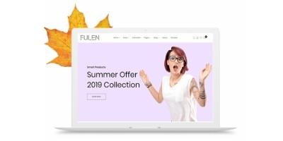 Fulen - Minimalist E-commerce Shopify Template