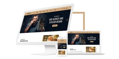 Badry - Oil For Beard eCommerce Shopify Template