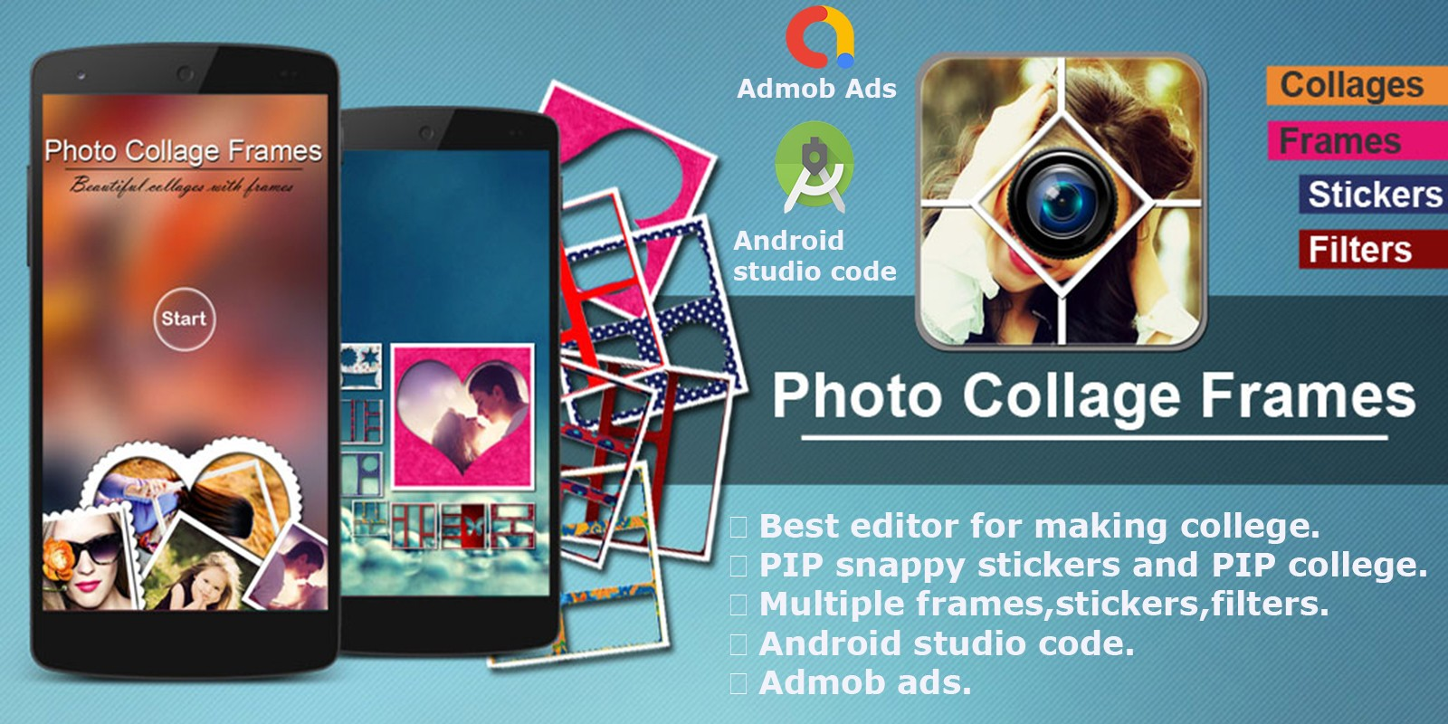 Photo Collage Maker Editor - Android App Source Co