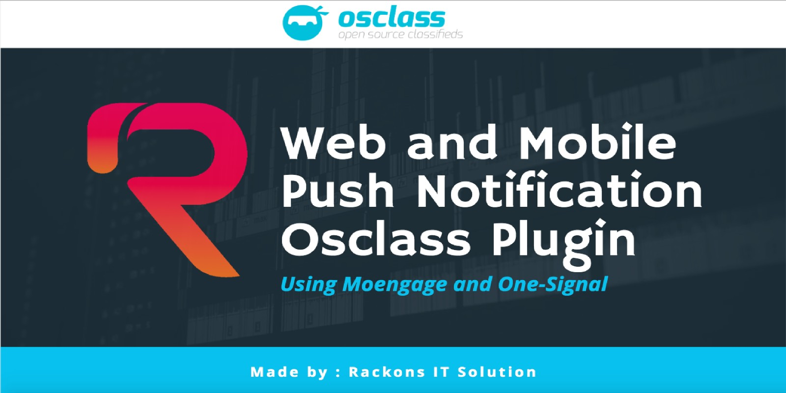 Web and Mobile Push Notification For Osclass