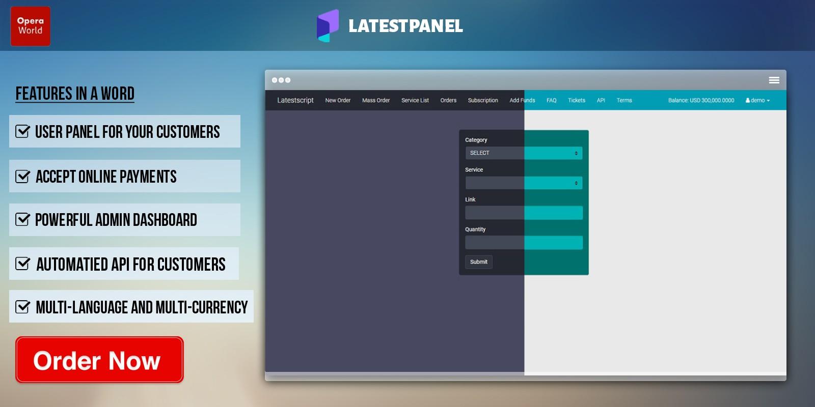 SMM Panel Script PHP