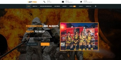 AT Fire - Joomla Template