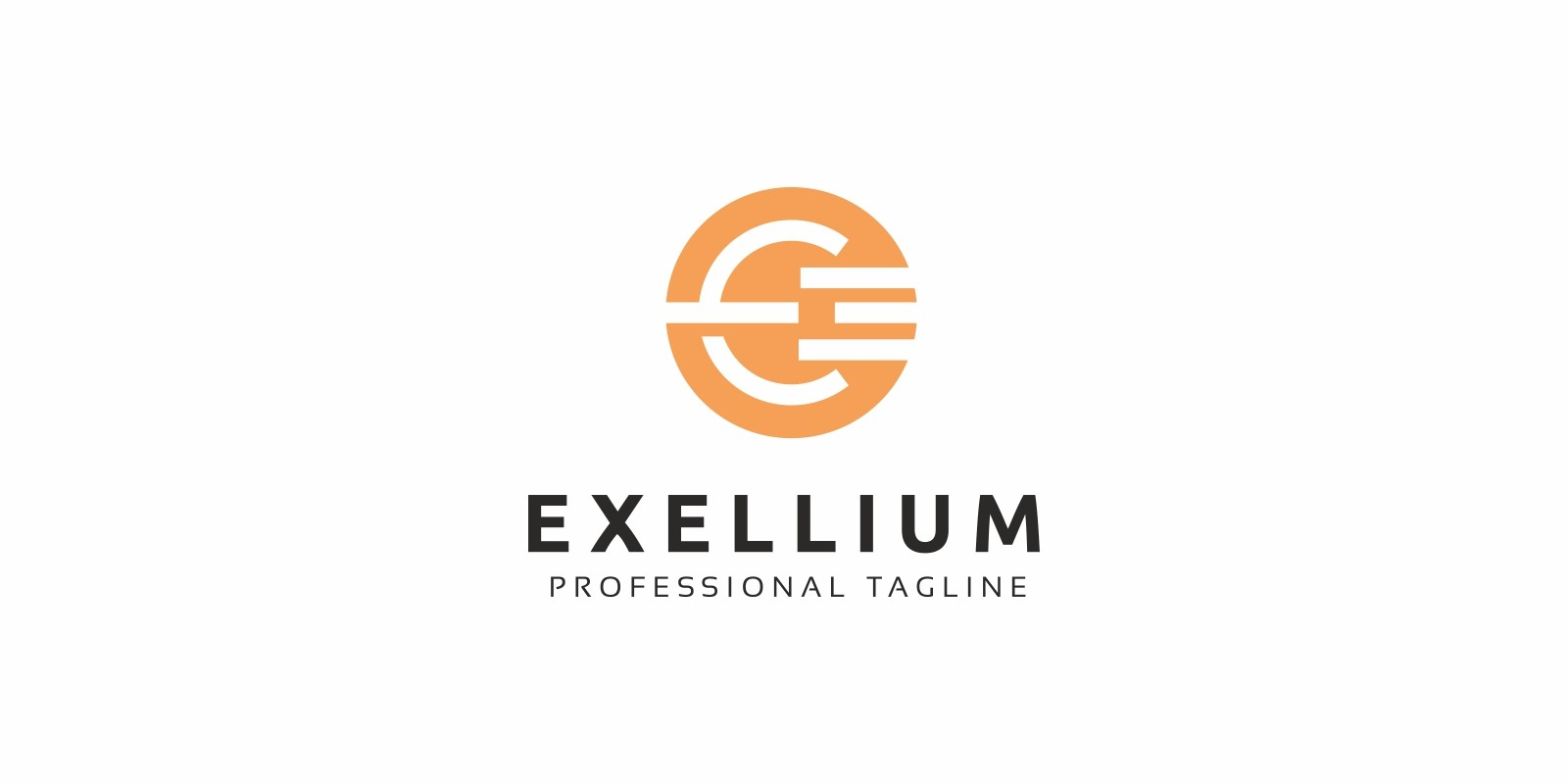 Exellium E Letter Logo