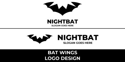 Bat Wings Logo Design