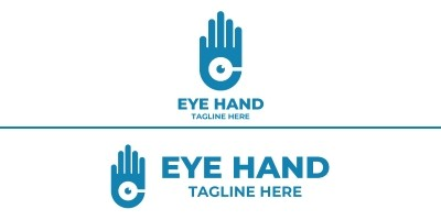 Hand Eye Logo Design