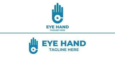 Hand Eye Logo Design