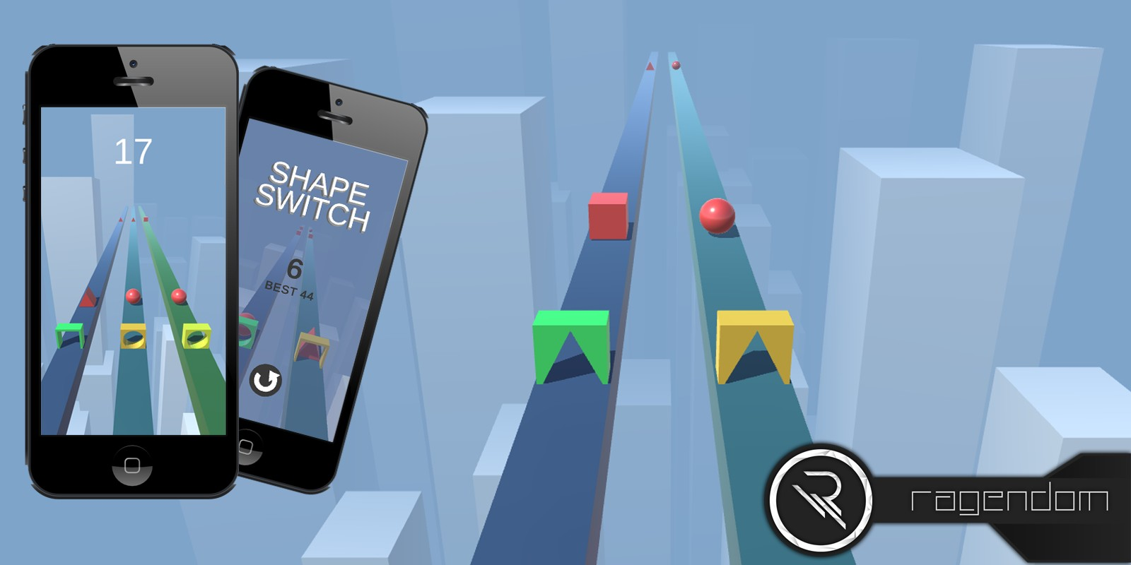 Shape Switch - Complete Unity Game