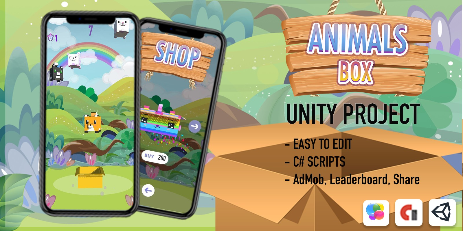 Animals Box - Unity Project