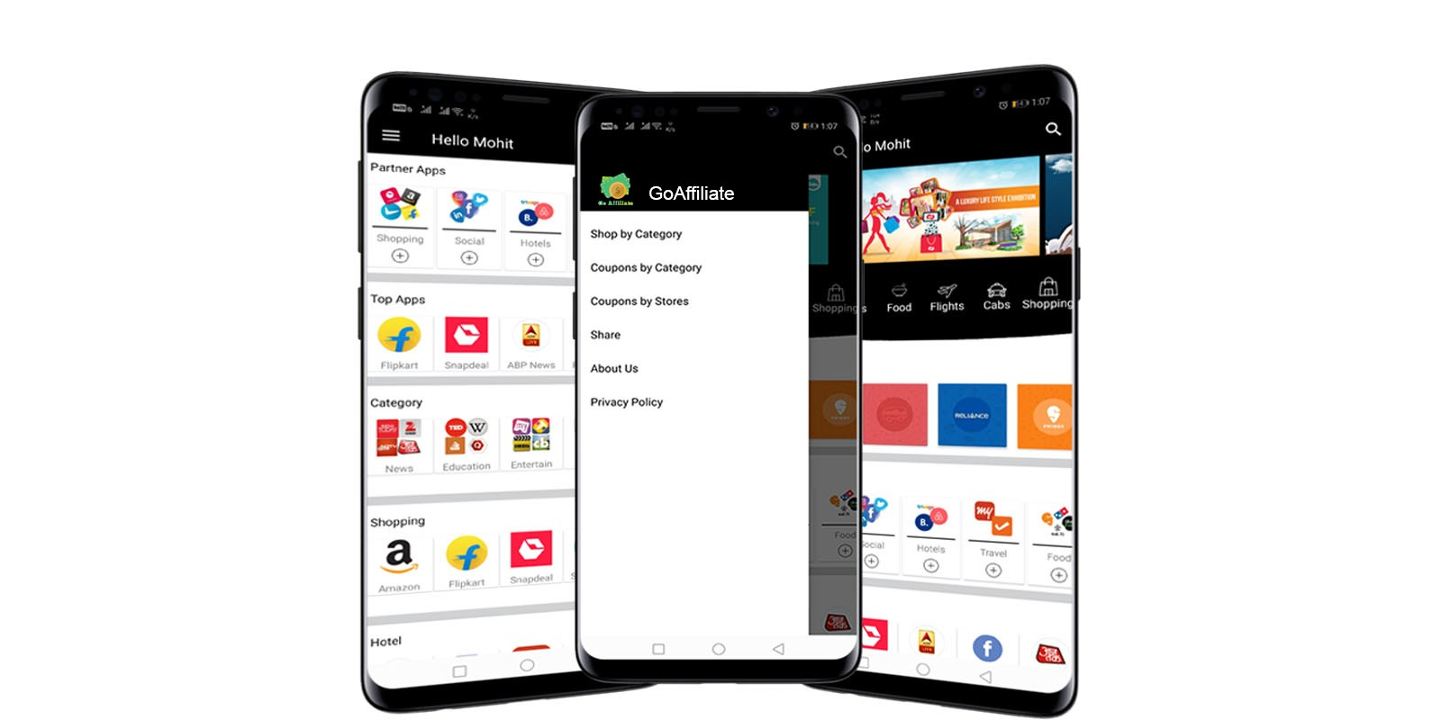 Affiliate Android App With Backend