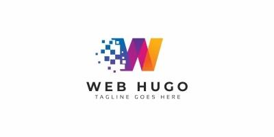 Web Hugo W Letter Logo