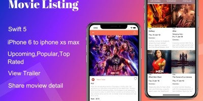 Movie Listing - iOS Source Code