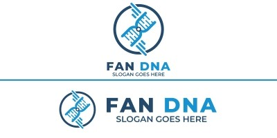Fan Dna Logo Design