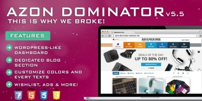 Amazon Dominator - Affiliate Marketing Script