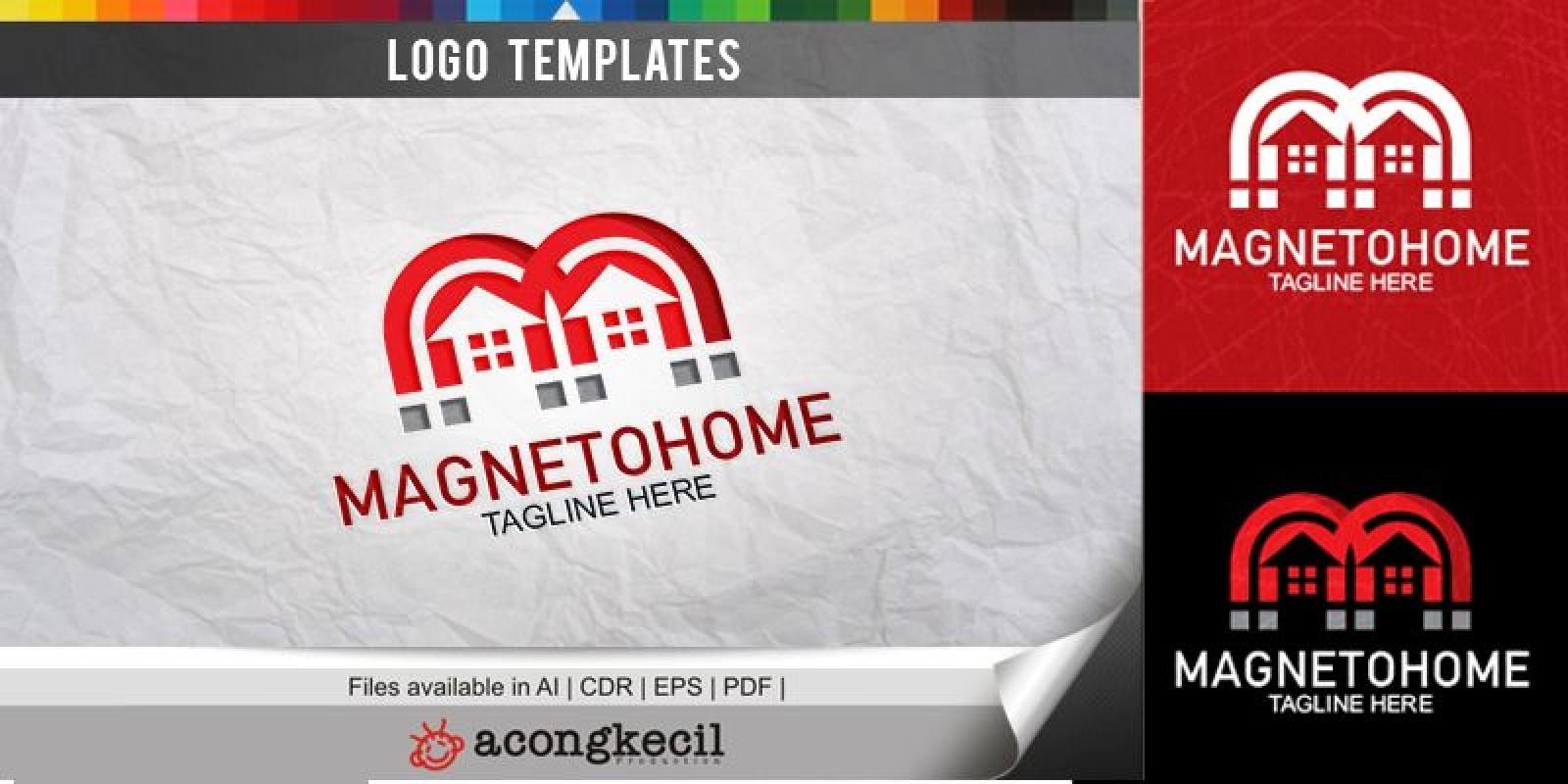 Magneto Home - Logo Template