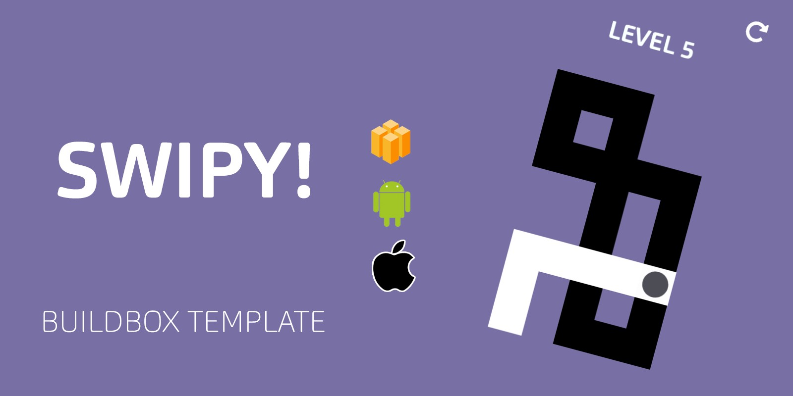 Swipy Buildbox Template