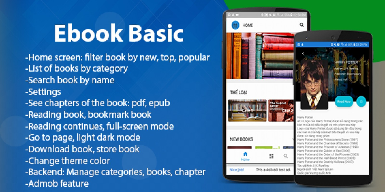 Ebook App Template Android