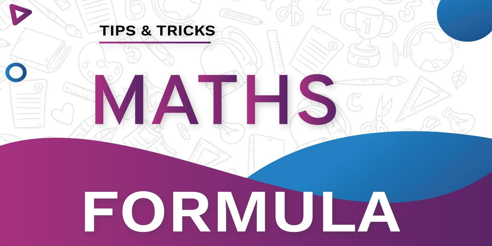 Maths Formula - iOS App Source Code