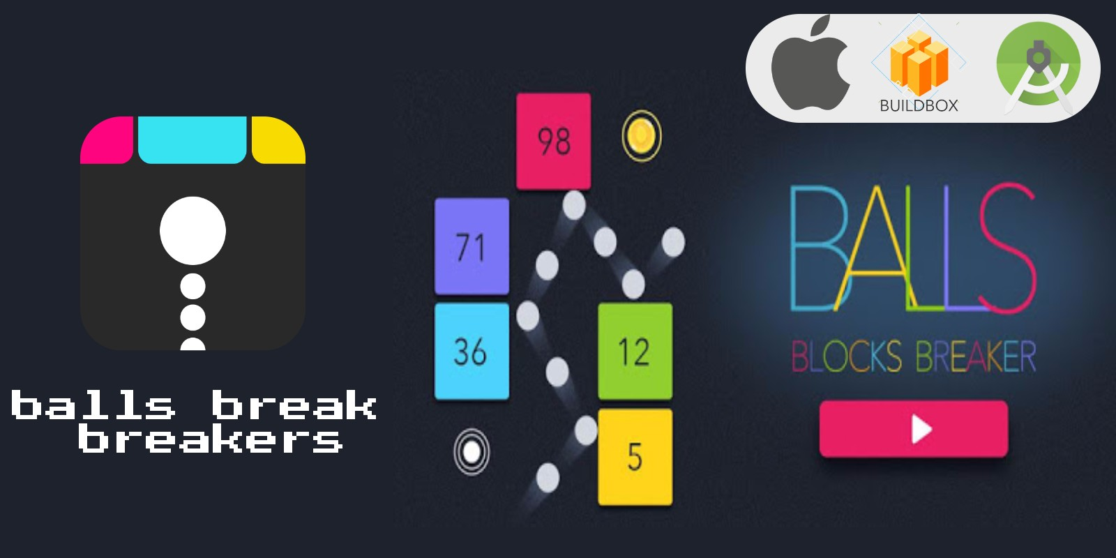 Balls Break Balls Buildbox Template