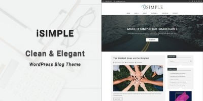 iSimple - WordPress Blog Theme