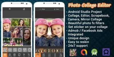 Photo Collage Editor - Android Source Code
