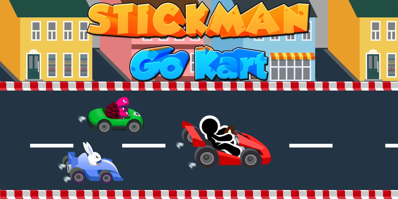 Stickman Go Kart - Buildbox Template