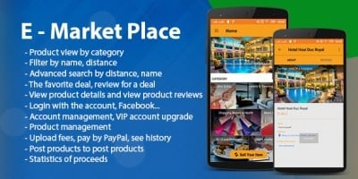 E - Market Place - Android App template