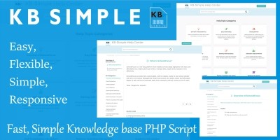 KB Simple - Knowledge-Base PHP Script