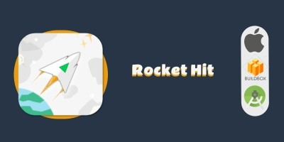 Rocket Hit Buildbox Template
