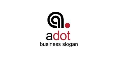 Adot A Letter Logo