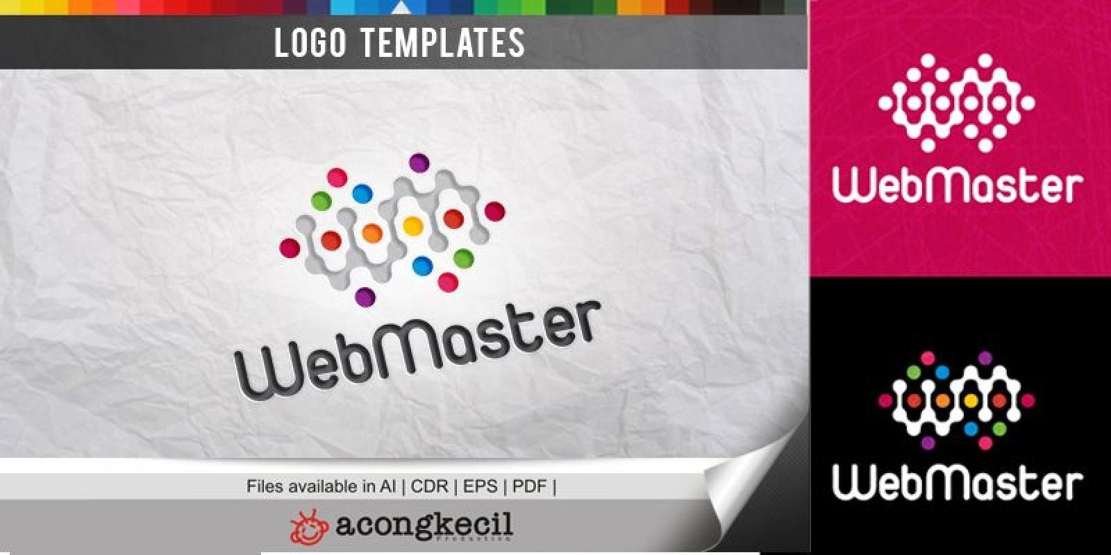 Web Master - Logo Template