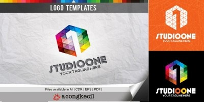 Studio One - Logo Template