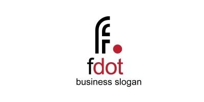 Fdot F Letter Logo