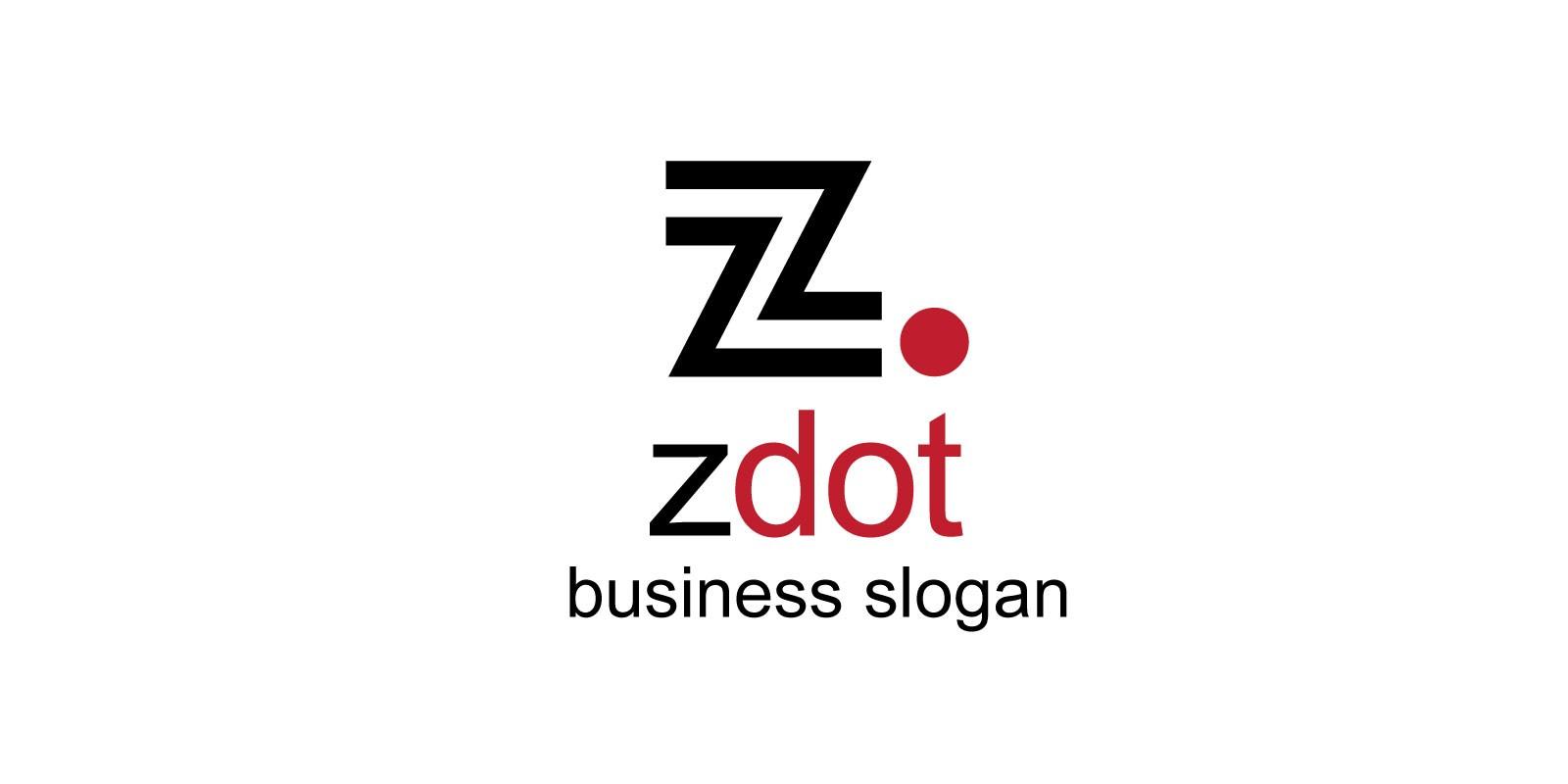 Zdot Z Letter Logo