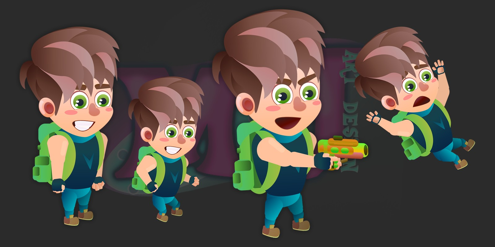 2D Game Character 4