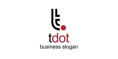 Tdot T Letter Logo