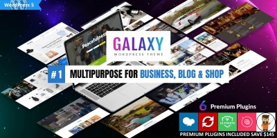 Galaxy - Responsive WordPress Theme